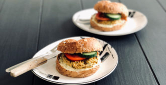 VEGAN COURGETTEBURGERS