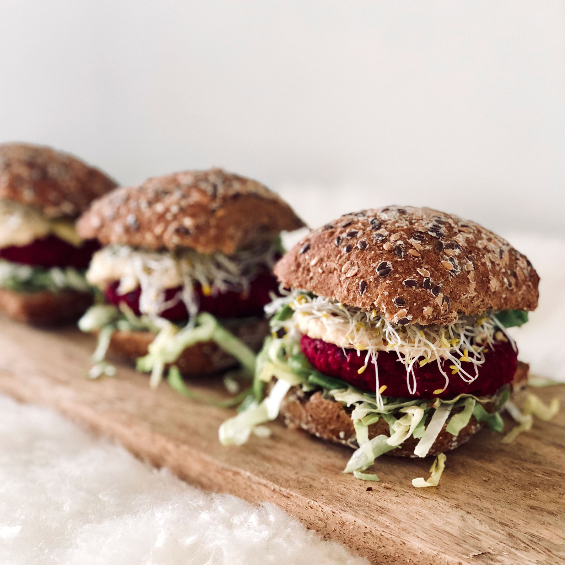 vegan bietenburgers